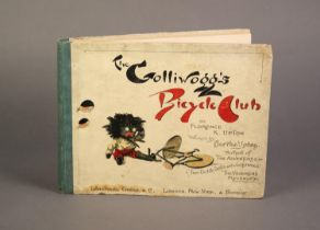 Florence K Upton- The Golliwogg?s Bicycle Club, words by Bertha Upton, pub Longmans Green and Co,