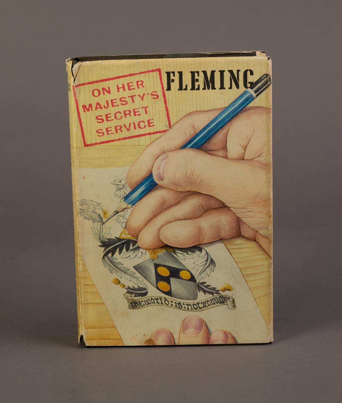 JAMES BOND. Ian Fleming- On Her Majesty?s Secret Service, OHMSS, pub Jonathan Cape, 1963, 2nd - Image 2 of 5