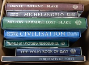 FOLIO SOCIETY. Milton, William Blake- Paradise Lost, 2003. Dante, Blake Inferno, 1998. Howard