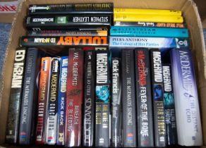 A quantity of modern General, Thriller and Crime Fiction various authors to include James Patterson,