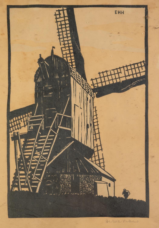 W. BRAITHWAITE (Twentieth Century) PEN AND BROWN INK DRAWING 'Holy Trinity Church, Micklegate, - Image 3 of 3