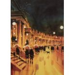 PETER J. RODGERS (MODERN) ARTIST SIGNED LIMITED EDITION COLOUR PRINT ON PAPER ?Steps and