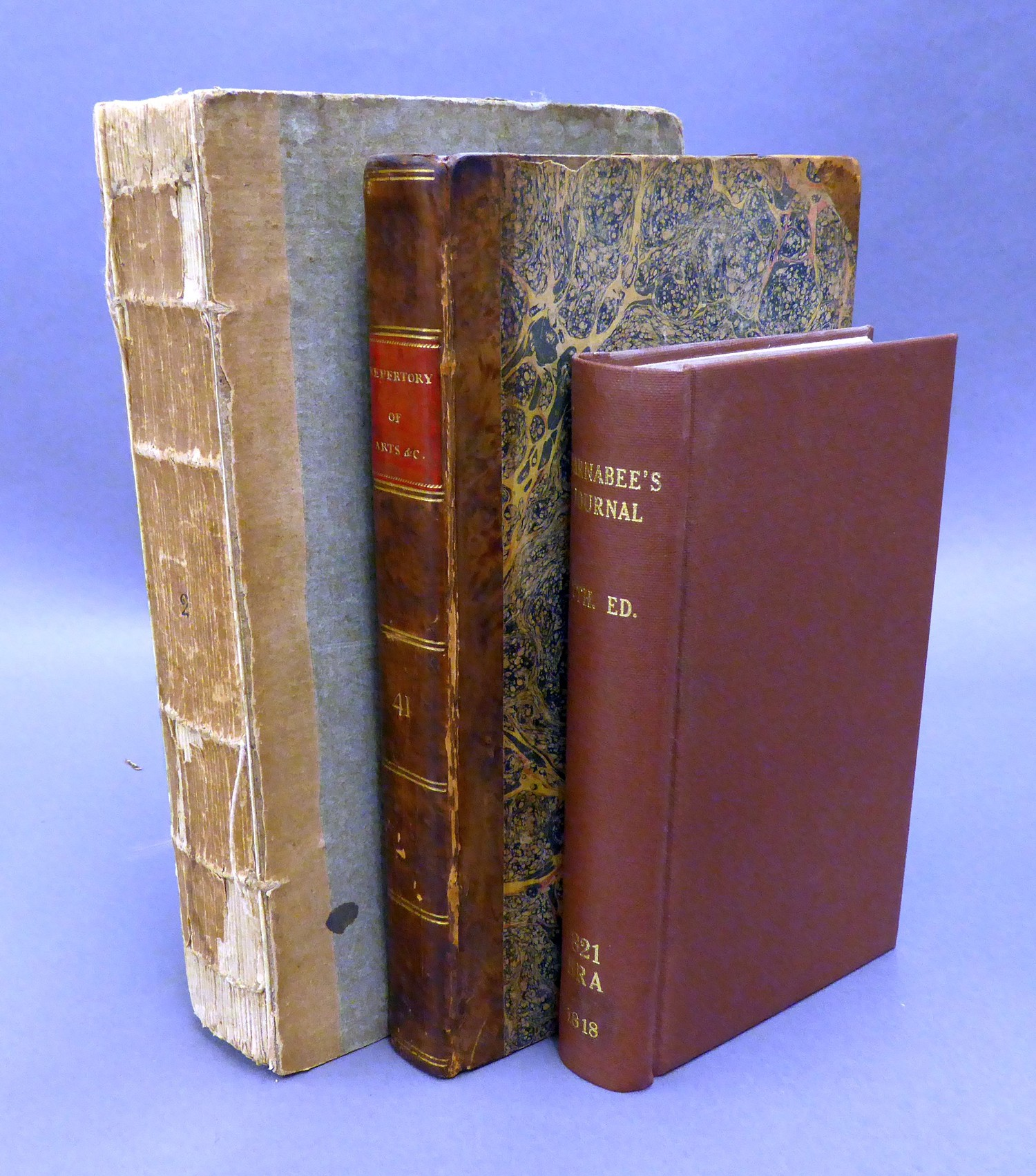 Barnabae Itinerarium, or Barnabee?s Journal, seventh edition, printed Harding, Taylor, 1818, rebound