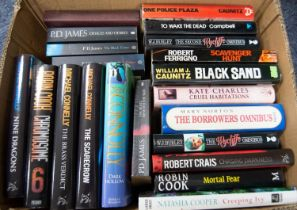 A quantity of modern General, Thriller and Crime Fiction various authors to include Lawrence