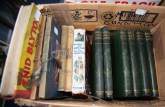Hulme- Familiar Wild Flowers, 6 vol set, pub Cassell and Company. Crompton-William the Showman,