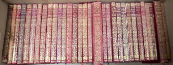 Rudyard Kipling- The Jungle Book, pub Macmillan 1917, bound in limp leather boards, together with