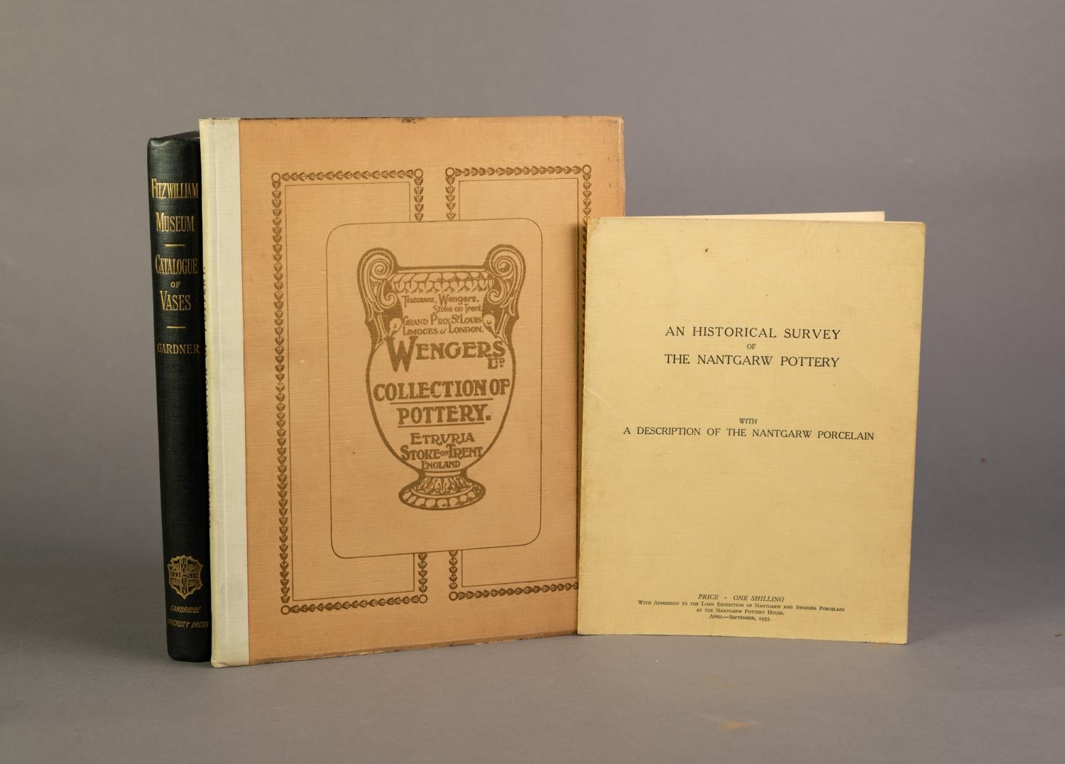 Specimens of Wengers Collection of Pottery at Etruria Stoke on Trent with Historical Notes on