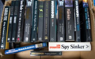 A quantity of modern General, Thriller and Crime Fiction various authors to include Minette Walters,