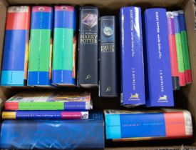 HARRY POTTER. J K Rowling- Harry Potter and the Goblet of Fire, deluxe binding, 1st Ed thus (two