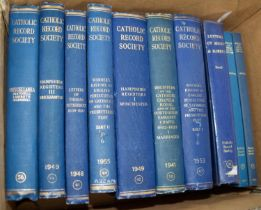 Catholic Records Society- Warner?s History of English Persecution of Catholics and Presbyterian Plot