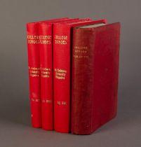 College Echoes-University Magazine, University of St Andrews, vol XV & XVI (1903-1904), bound in