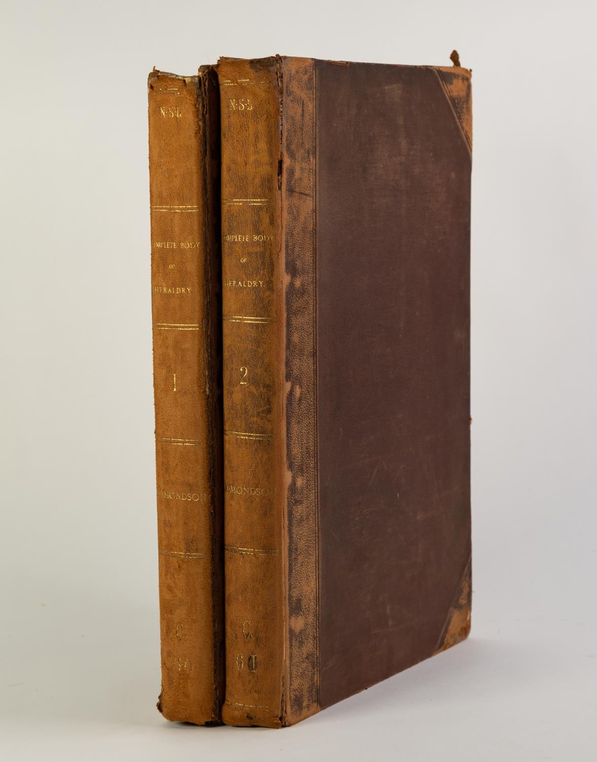 Joseph Edmondson- A Complete Body of Heraldry, 2 vol, folio, London, printed for the Author by T