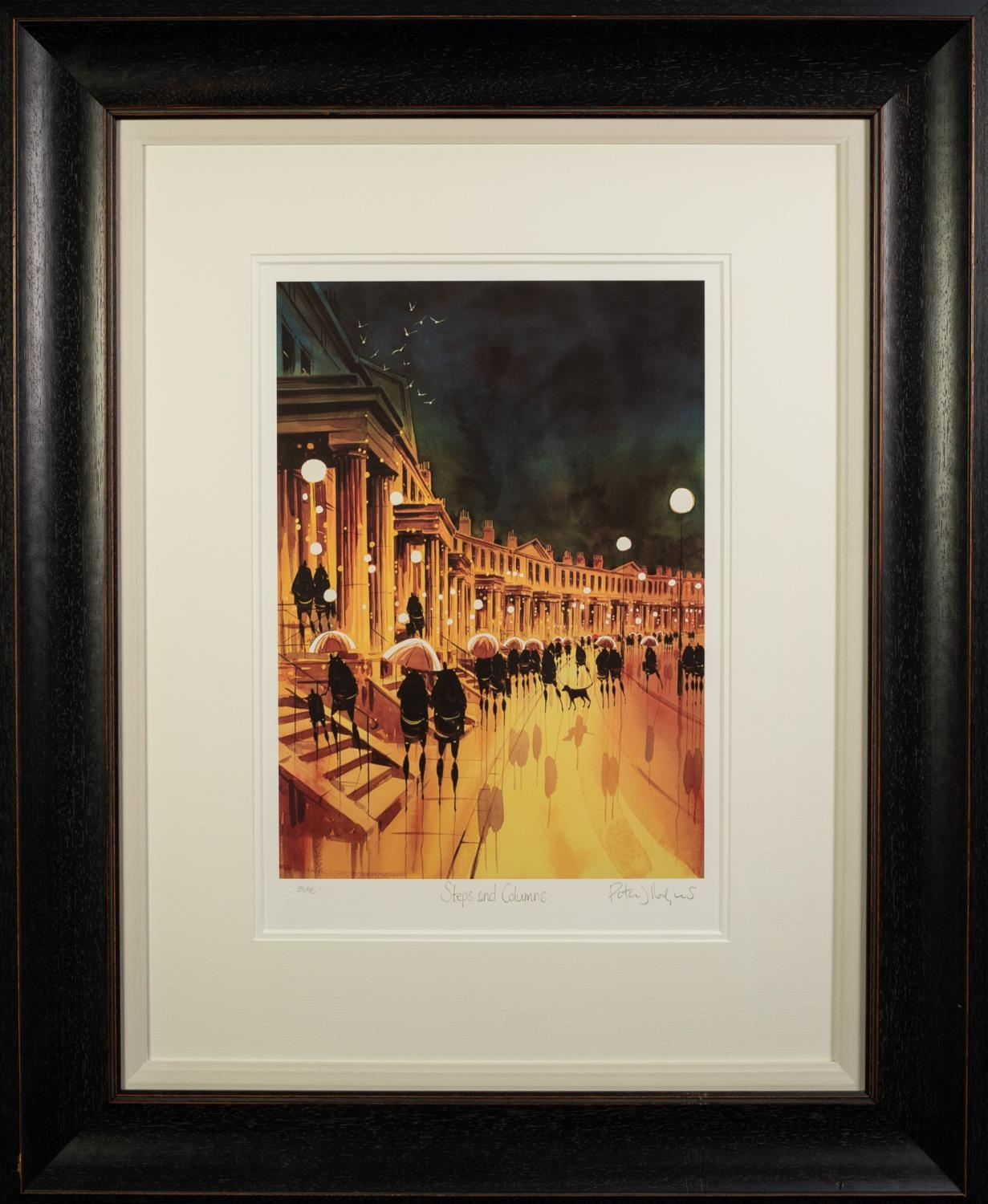 PETER J. RODGERS (MODERN) ARTIST SIGNED LIMITED EDITION COLOUR PRINT ON PAPER ?Steps and - Image 2 of 2