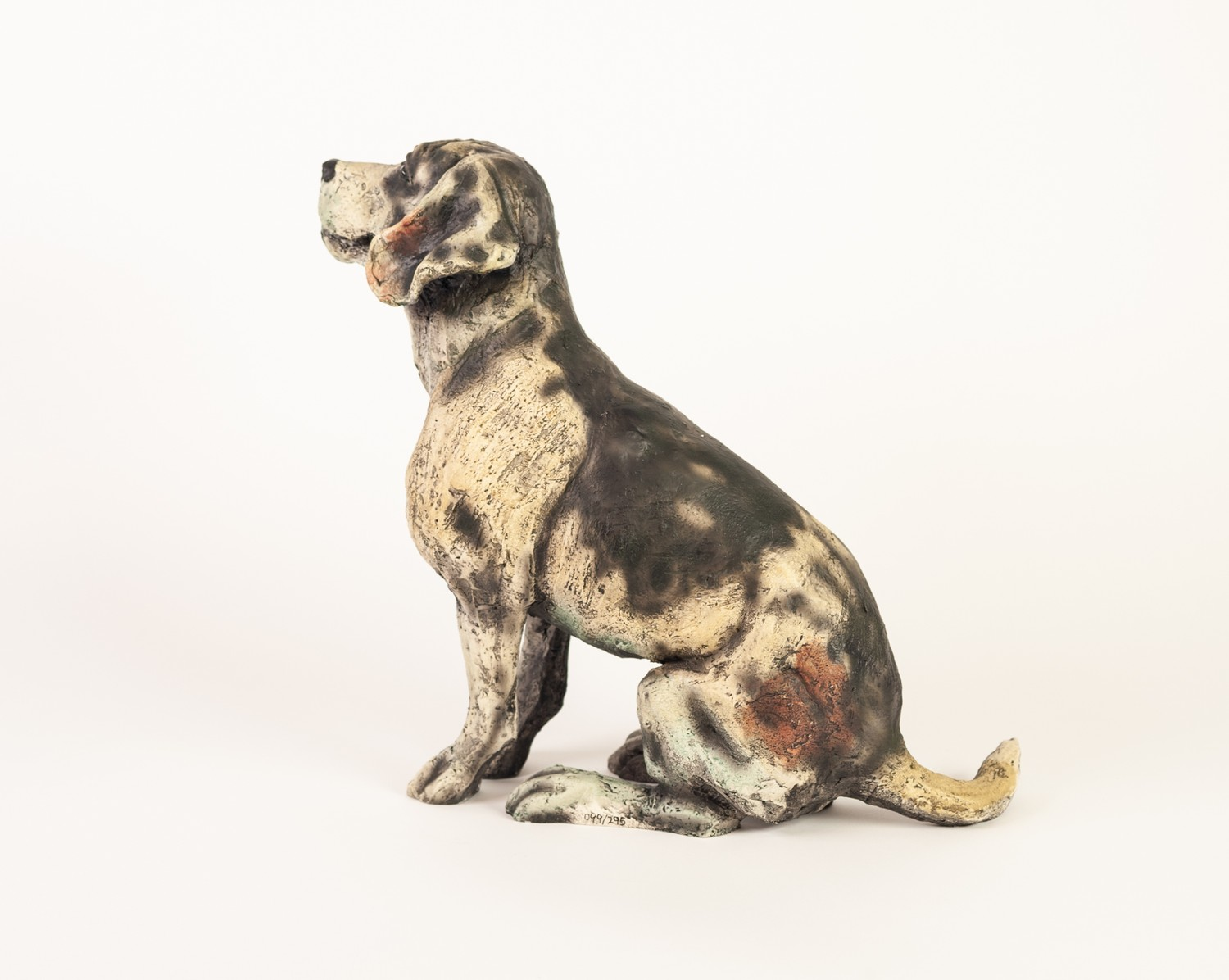 APRIL SHEPHERD (TWENTIETH/ TWENTY FIRST CENTURY) LIMITED EDITION RESIN MODEL OF A DOG ?Paying - Image 2 of 2