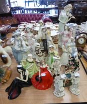 A SELECTION OF MAINLY SPANISH FIGURINES TO INCLUDE; EXAMPLES OF 'TENGRA', 'LEVANTINA', 'NADAL', '
