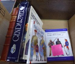 MILITARY HISTORY. A quality selection of titles relating to FRENCH military uniforms. Les