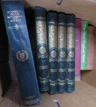 Charles A Read- The Cabinet of Irish Literature, 4 vol, Blackie & Son, in original green and gilt