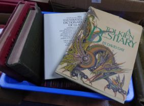 David Day JRR Tolkien- a Tolkien Bestiary, pub Mitchell Beazley London, 1983. Together with a