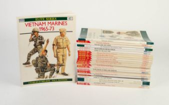 A quality selection of 26 Osprey, Men-at-Arms ELITE SERIES books to include The Hungarian Revolution