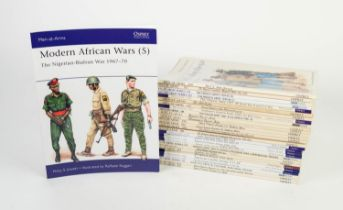 Military History. A quality selection of 30 Osprey Publishing Men-at-Arms military paperbacks to