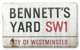 Bennett's Yard SW1