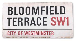 Bloomfield Terrace SW1