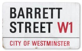 Barrett Street W1