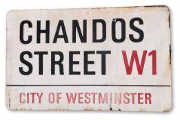 Chados Street W1