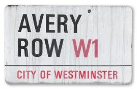 Avery Row W1