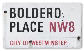 Boldero Place NW8