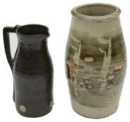 Leach studio pottery vase