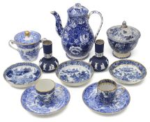 A collection of mostly early 19th century ceramics to include Pearlware