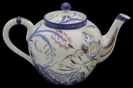 A Russian Soviet porcelain teapot dated 1929