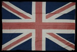 An early 20th century linen Union Jack flag