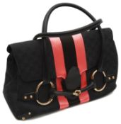 A Gucci by Tom Ford horse bit tote handbag