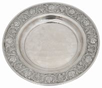 A Continental .900 silver plate