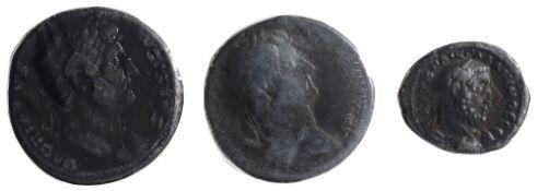 Hadrian AE SestertiusRome, Struck 126-127 ADHADRIANVS AVGVSTVS, laureate bust to right, slight
