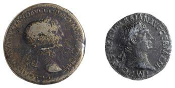 Trajan AE SestertiusRome, Struck 103-111 ADIMP CAES NERVAE TRAIANO AVG GER DAC P M TR P COS V P P: