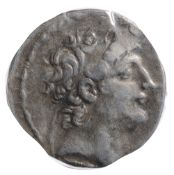 The Seleucid Kingdom, Antiochos VIII Silver Tetradrachm121-96 BCDiademed head of Antiochus VIII to