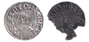 Anglo Saxon Aethelred II (978-1016), silver penny, Long cross type (c.997-1003), Lincoln mint,