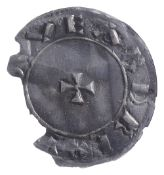 Anglo Saxon Edward the Elder (899-924), silver Penny, two line type, Moneyer Aethelred, small