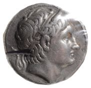 Kings of Macedon, Demetrios Poliorketes Silver TetradrachmAmphipolis, Struck c 292-291 BC.