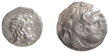 Egypt, Ptolemy I Silver Tetradrachm323-305 BCHead of deified Alexander the Great facing right,