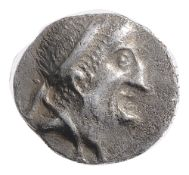 The Seleucid Kingdom, Alexander II Silver Drachm128-123 BCBust right / Athena standing left, holding