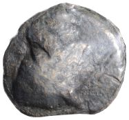 Roman Republic AE Aes Grave Sextansc. 280-269 BCHead of dioscuriDiameter 35 mmCondition: Fair