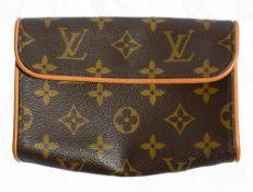 A Louis Vuitton belt bag