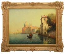 Noel Georges Bouvard (French, 1912-1975) 'View of a Venetian Canal'