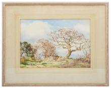 Frank Eggington (British 1908-1990) 'Beech trees'
