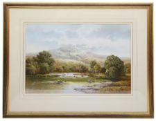 Wendy Reeves (British b.1945) 'Scottish Loch'