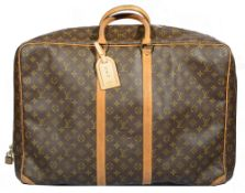 A Louis Vuitton 'Sirius 60' monogrammed leather suitcase/large holdall